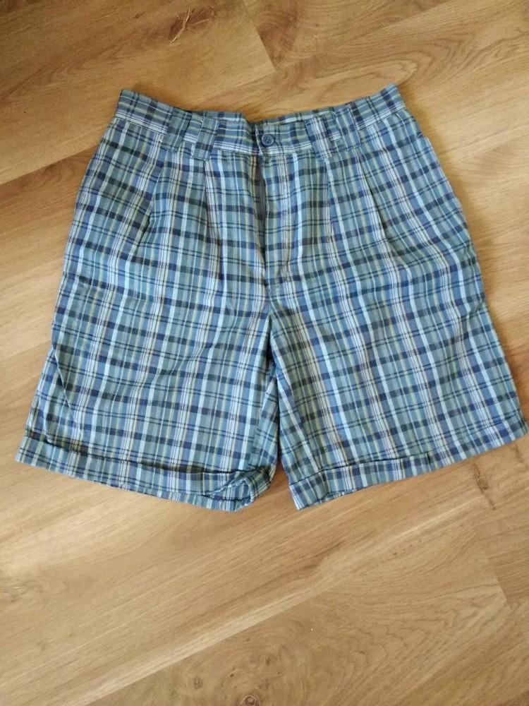 Модные шорты в клеточку на рост 170 см, фото №1