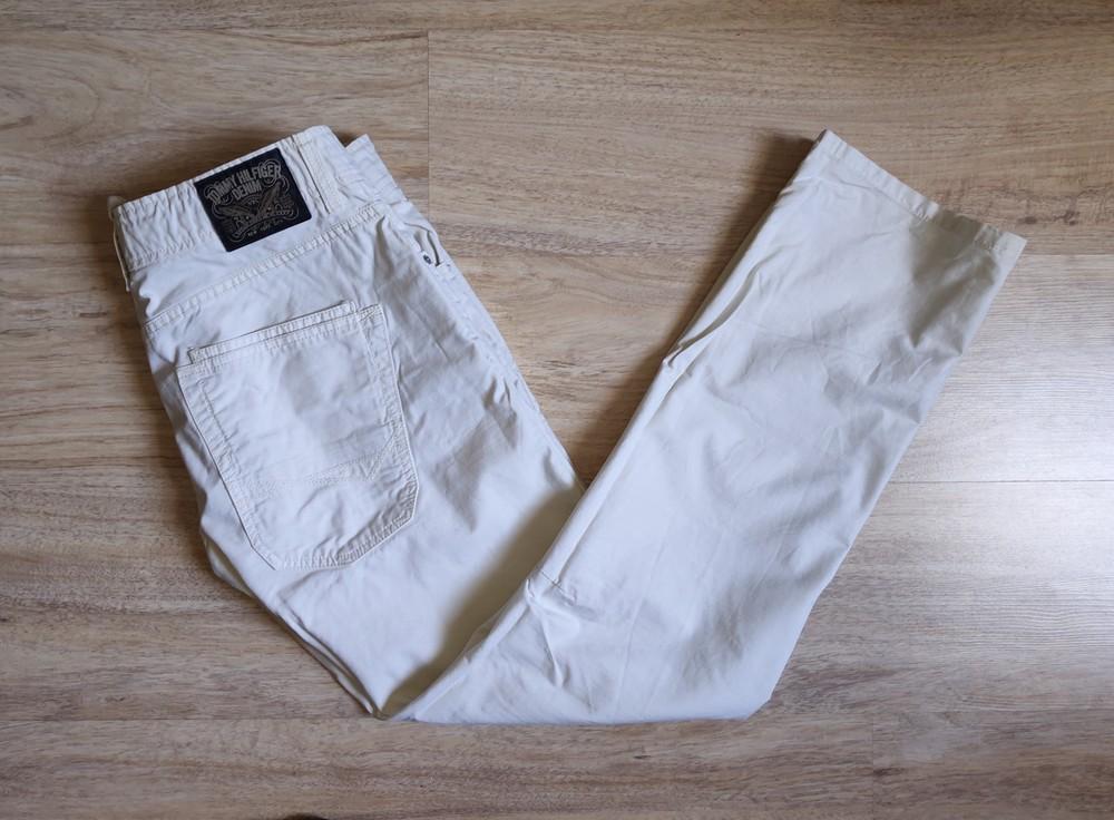 Чинос котоновые летние джинсы tommy hilfiger фото №1