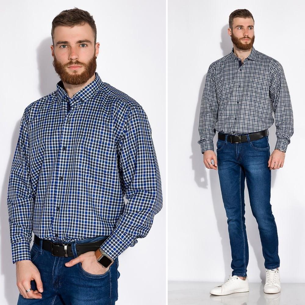 Рубашка в стиле casual фото №1