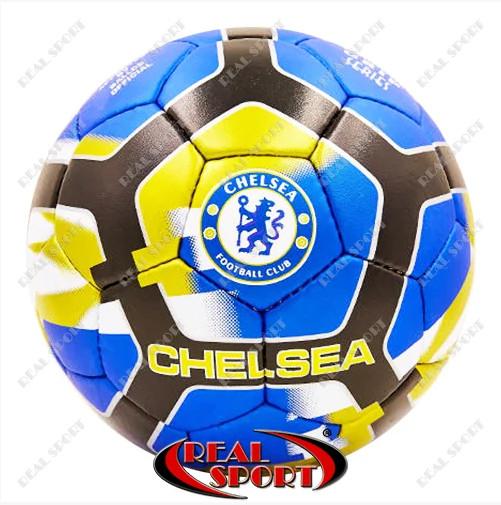 Мяч футбольный chelsea fb-6698 5, 5 сл. , сшит вручную фото №1