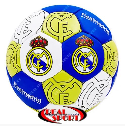 Футбольный мяч real madrid fb-0047-107 5, 5 сл. , сшит вручную фото №1