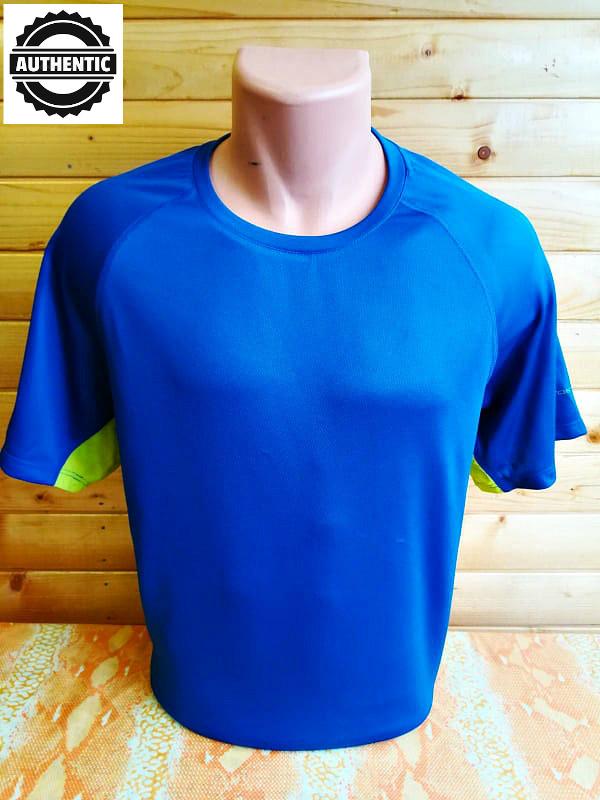 Высококачественная легкая и комфортная спортивная футболка аuthentic. фото №1