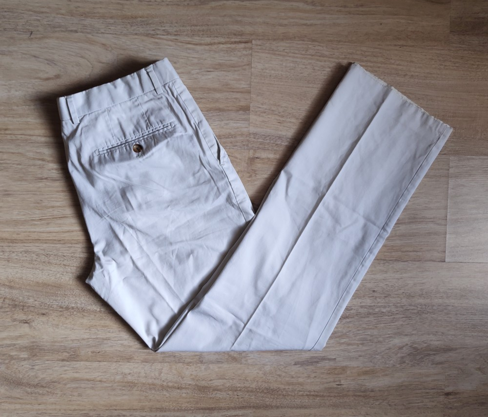 Лёгкие летние котоновые брюки h&m фото №1