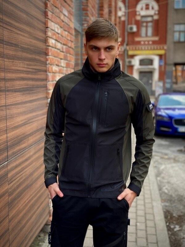 Мужская куртка intruder softshell lite iforce 3 цвета, s-xxl фото №1