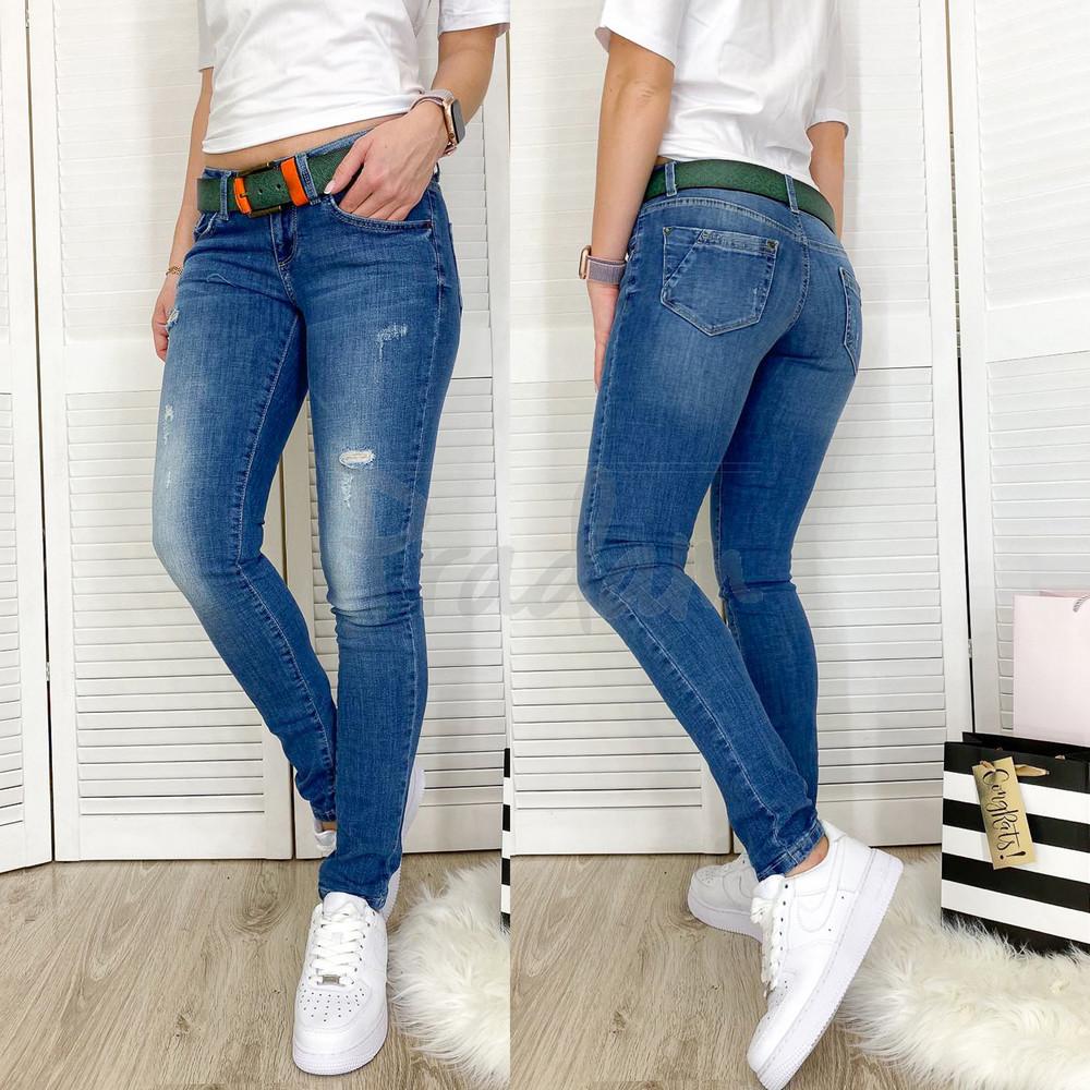 9307-566 colibri джинсы женские бойфренды весенние стрейчевые размер 25-30 фото №1