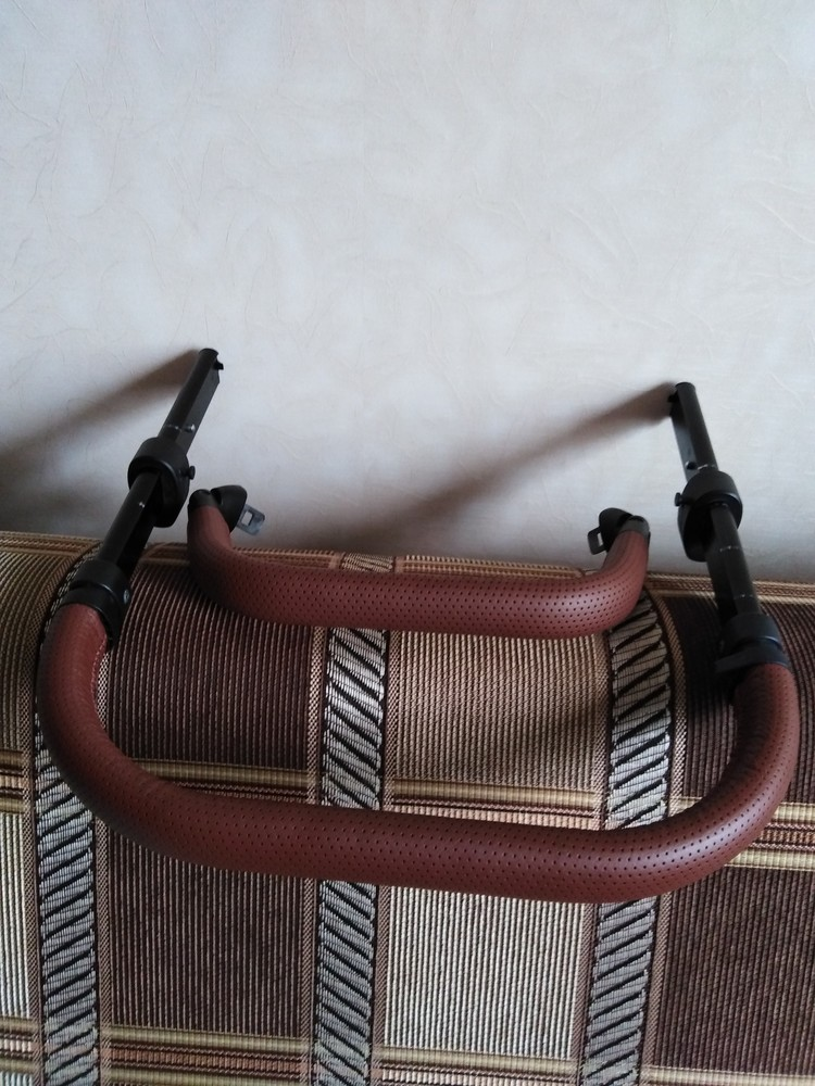 Ремонт, перетяжка ручки бампера коляски mutsy, joolz, bugaboo, concord фото №1