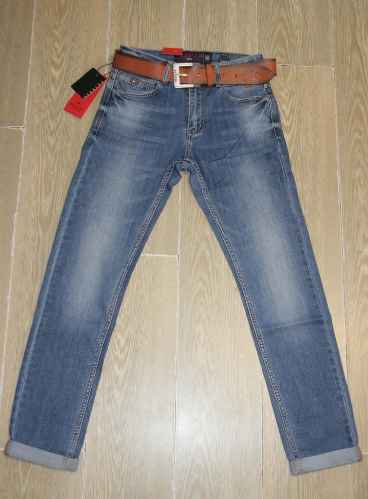 Мужские джинсы классика resalsa 9635 стрейчевые 30,32,38рр фото №1
