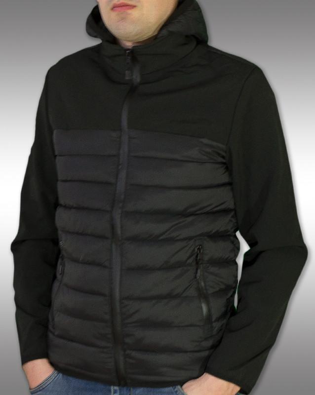 J. style, чоловіча вітровка, куртка чорного кольору, качественная мужская куртка фото №1