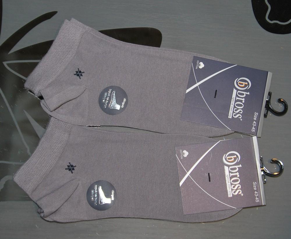 Мужские укороченные носки 43-45 турция бросс фото №1