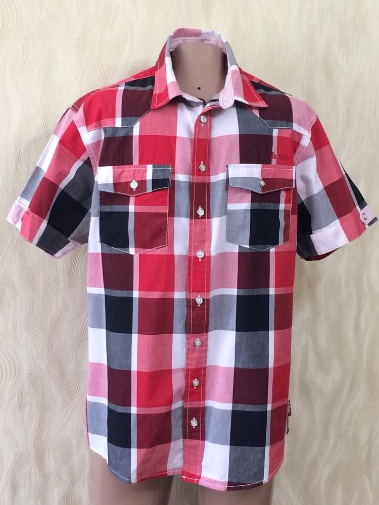Красивая рубашка lee cooper, р.48-50 фото №1