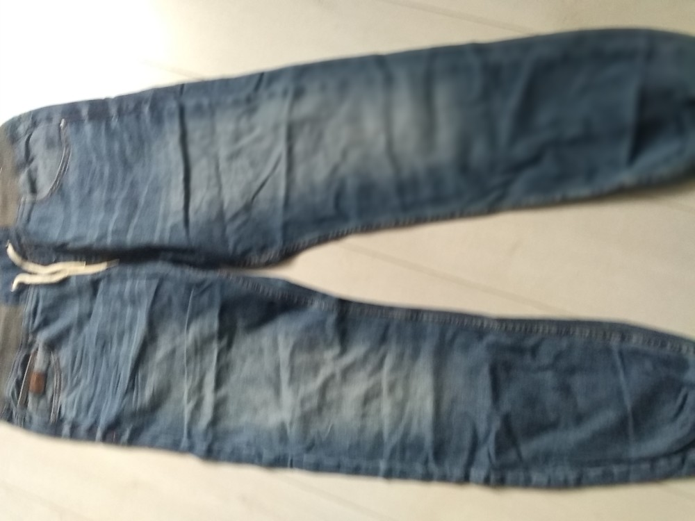 Штаны джинсовые cropp фото №1