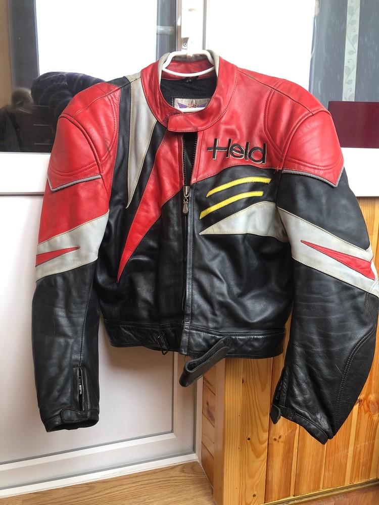 Мотокостюм 54 размера мужской кожанный фото №1