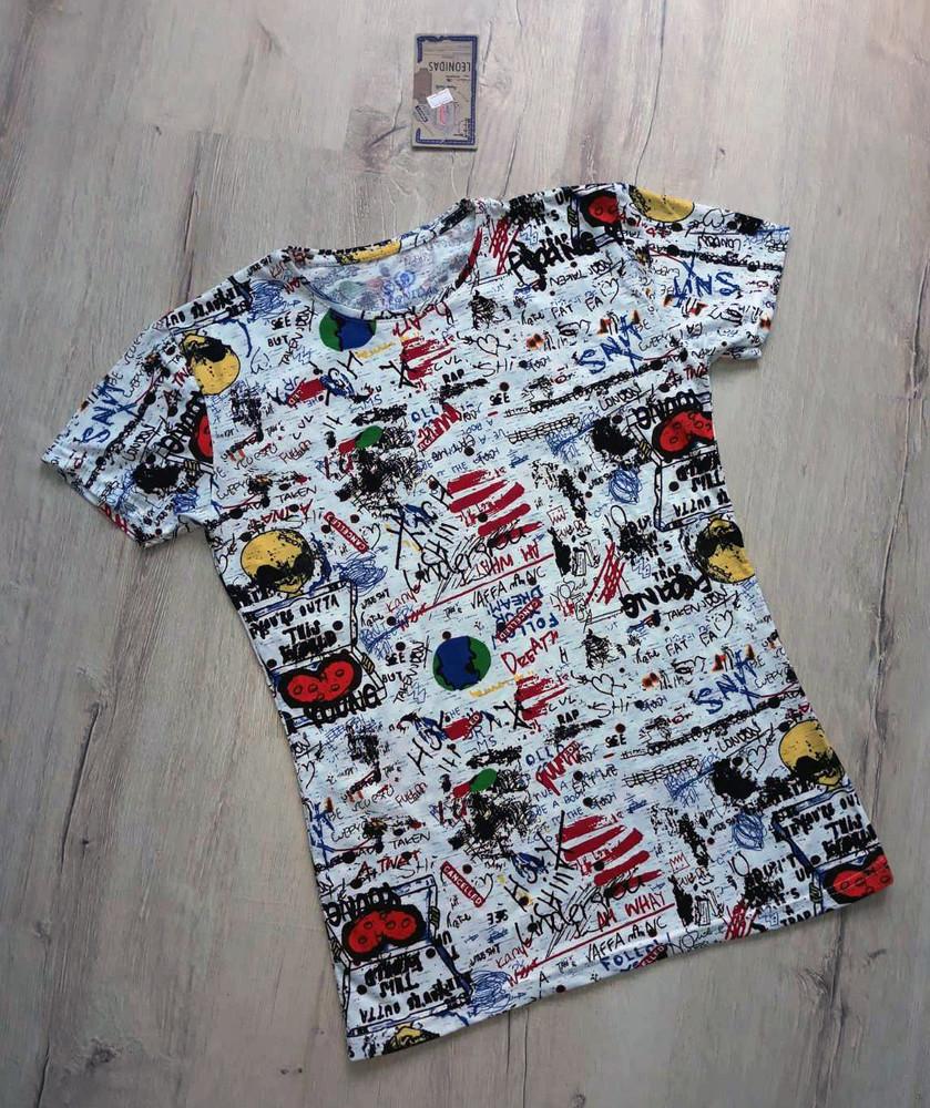 Мужская футболка leonidas фото №1