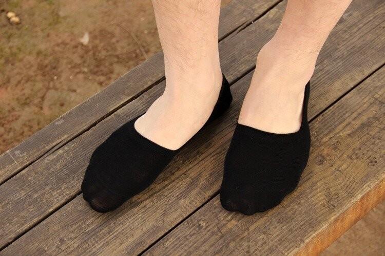 Хлопковые носки невидимки, следы подследники следочки livergy германия, мужские женские фото №1