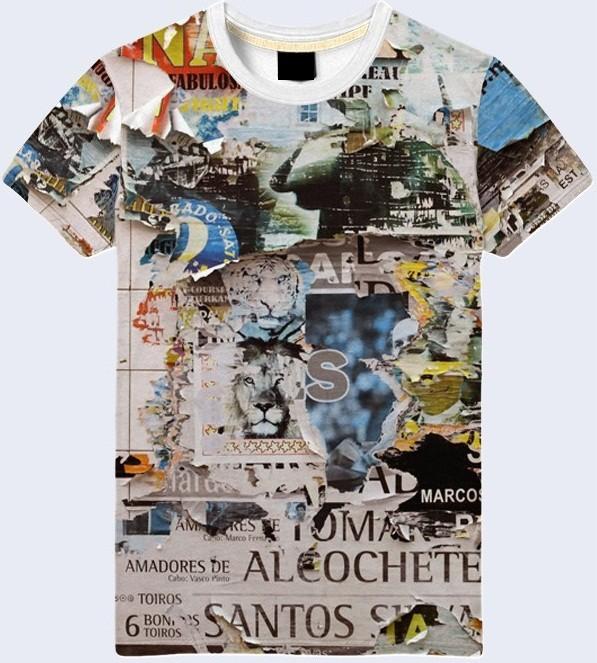Мужская футболка 3d posters большой выбор фото №1
