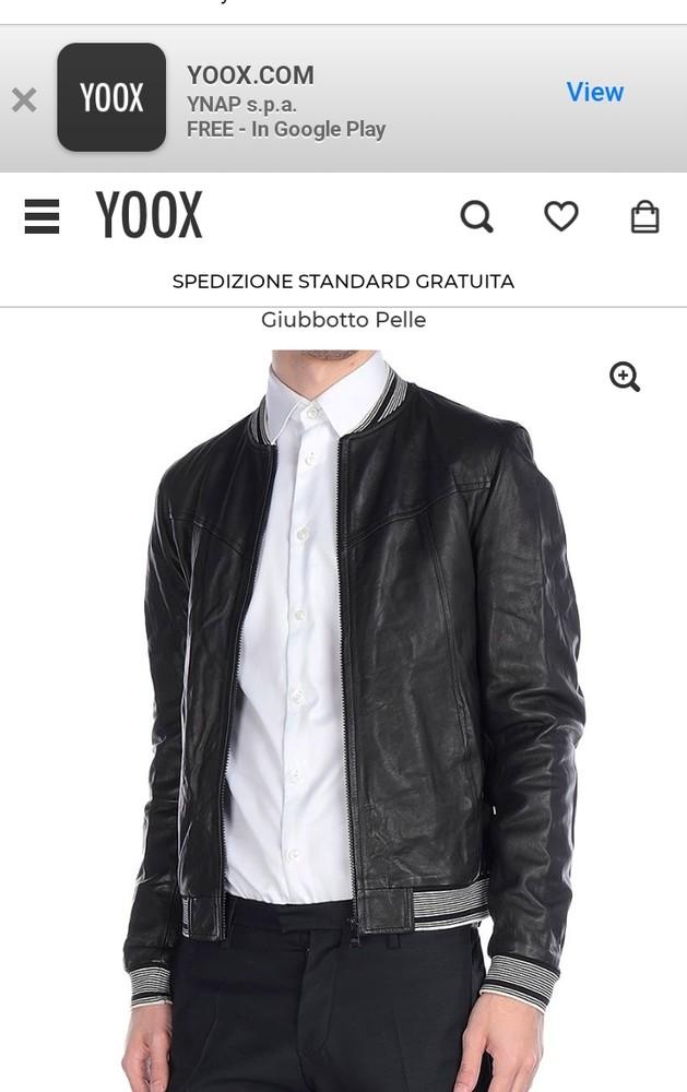 Кожаная куртка dolce&gabbana 19500 грн. фото №1