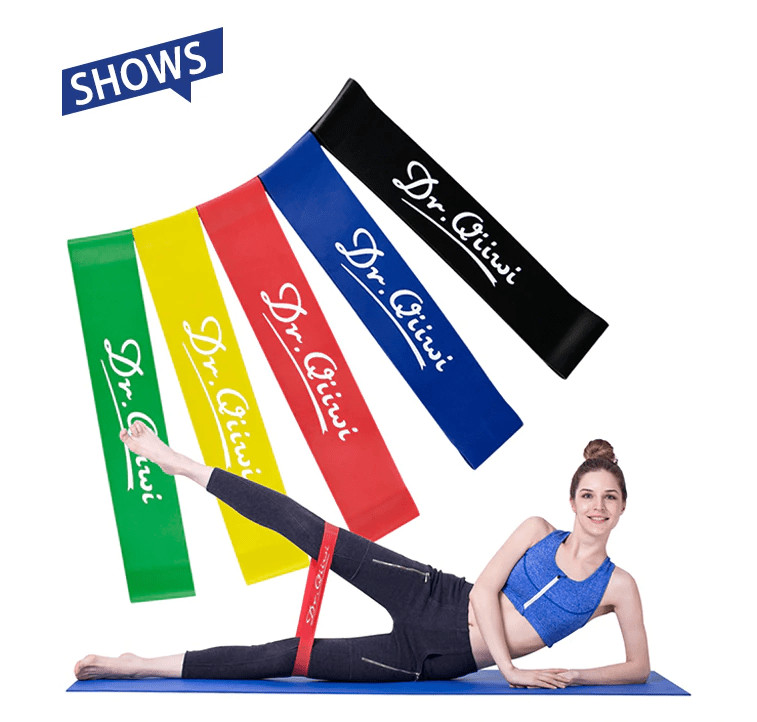 Резинки dr. qiiwi для занятий фитнесом. поштучно и наборы. фото №1