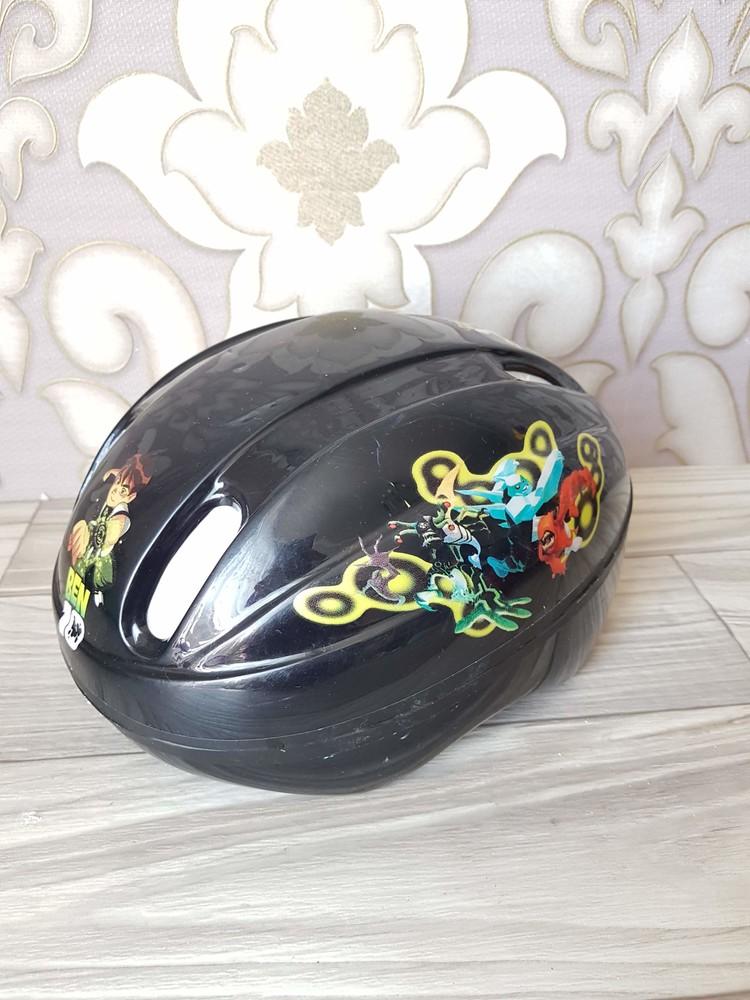 Защитный детский шлем бен 10 фото №1