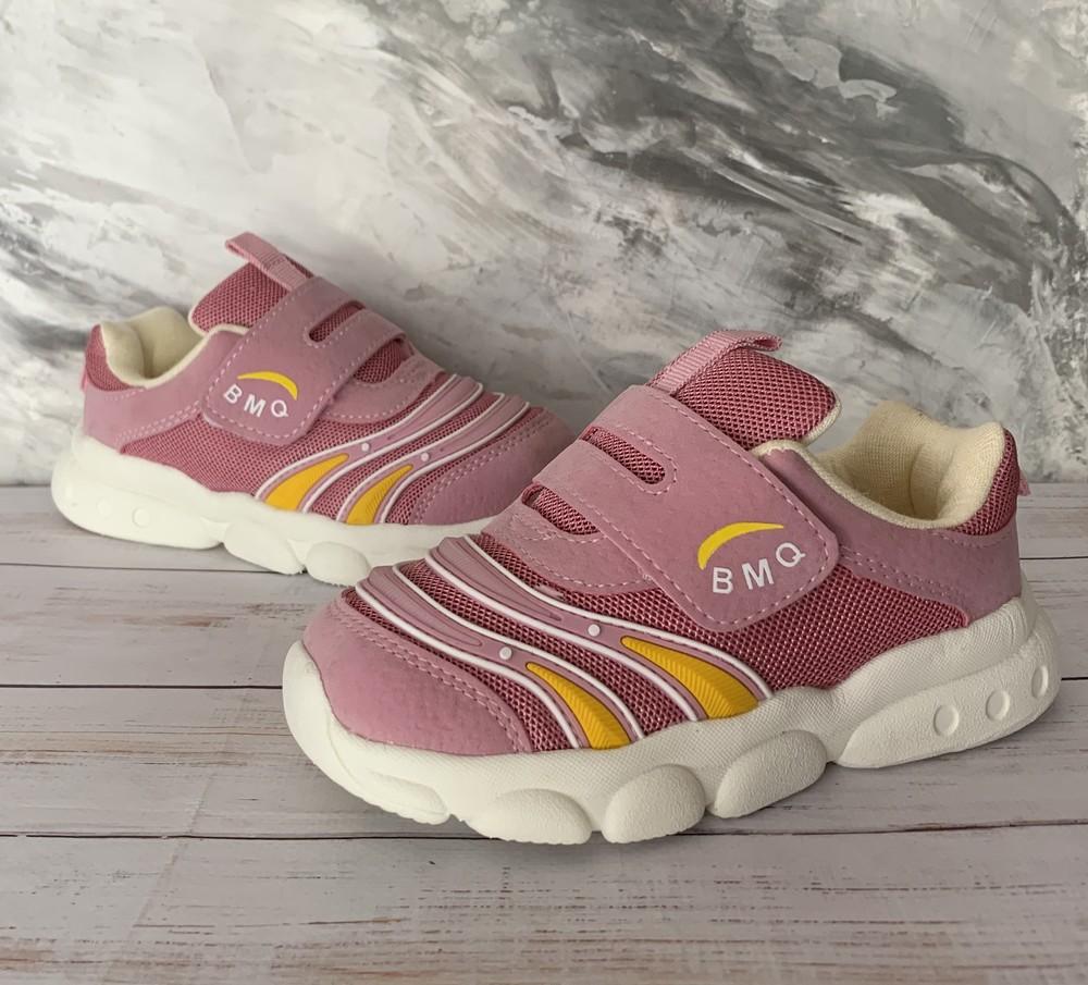 Кроссовки детские, кроссовки для девочки, кроссовки на липучках, фото №1