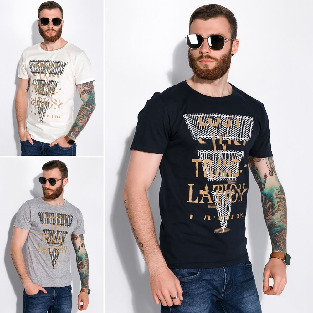 Стильная мужская футболка фото №1