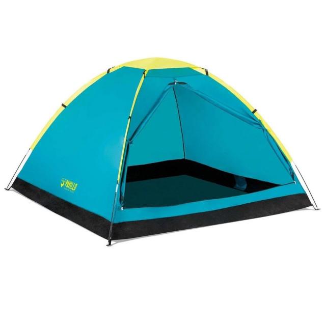Палатка туристическая трехместная pavillo bestway 68085 «cool dome 3», 210х210х130 см фото №1