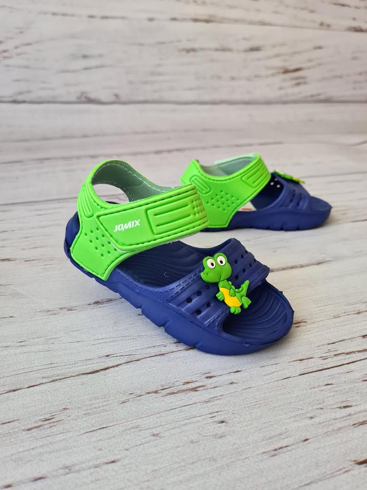 Детские аквашузы летние босоножки jomix, 24-29р, sp0788 blue фото №1