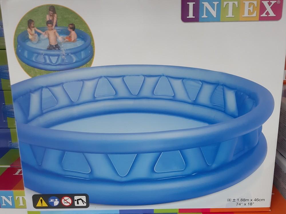 Надувний басейн нло/ бассейн детский. вместительный/188 см. × 46 фото №1