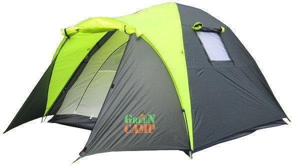 Палатка 3-х местная greencamp gc1011 (280x200x150 см) фото №1
