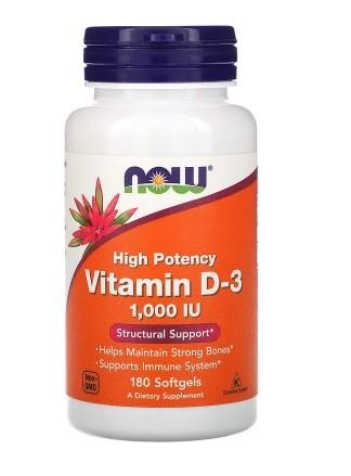 Витамин d3 д3 now foods фото №1