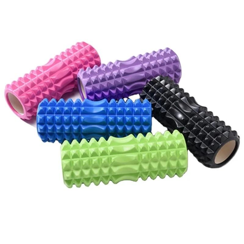 Валик массажный, роллер, ролик для фитнеса и йоги cf88 eva 33 x 14 см фото №1