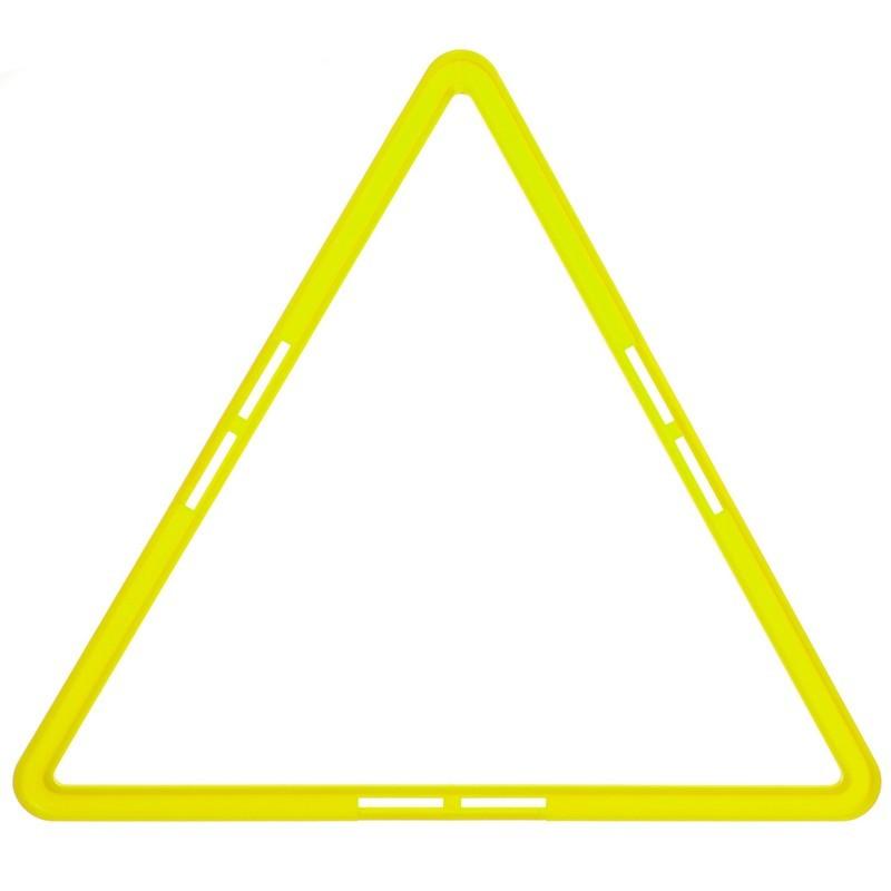 Тренировочная напольная сетка треугольная agility grid 1414: размер 48х42см фото №1
