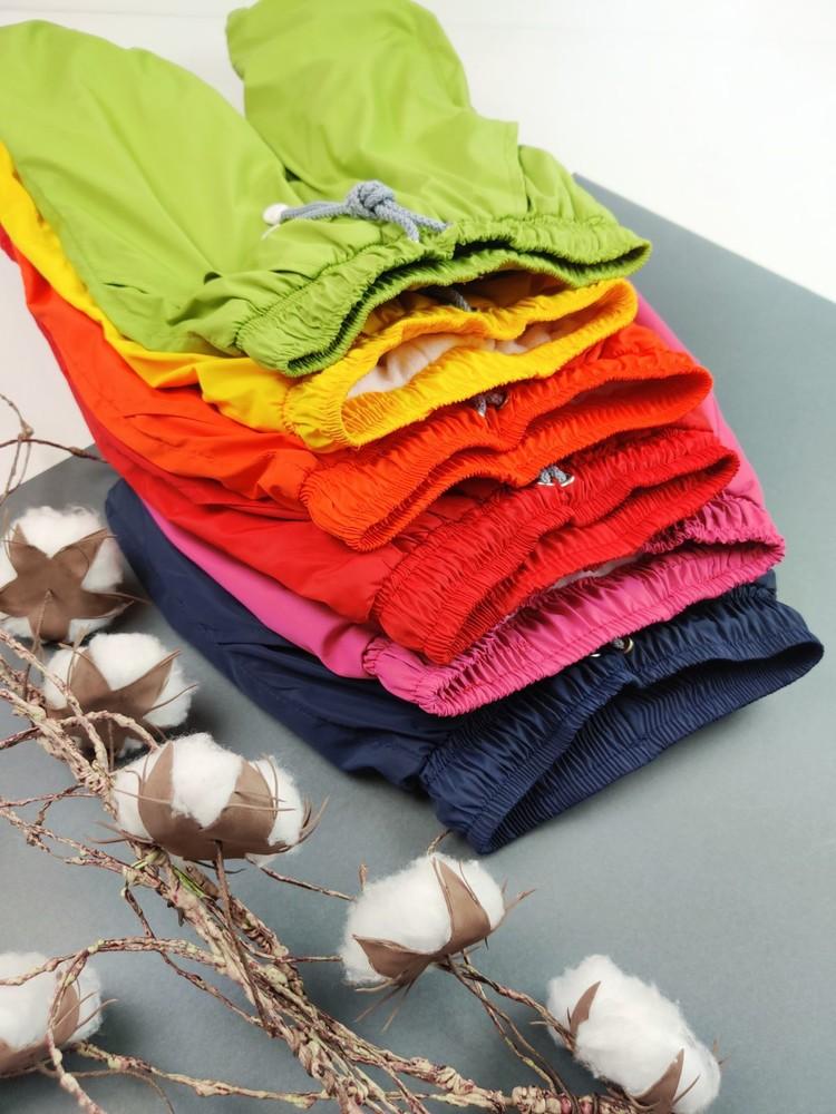 Яркие осенние штанишки для девочки и мальчика штанишки для деток фото №1