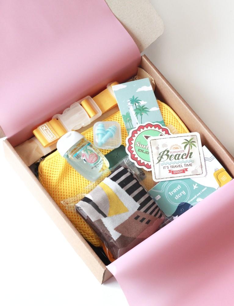 Подарочный набор для путешествия travel box 3 фото №1