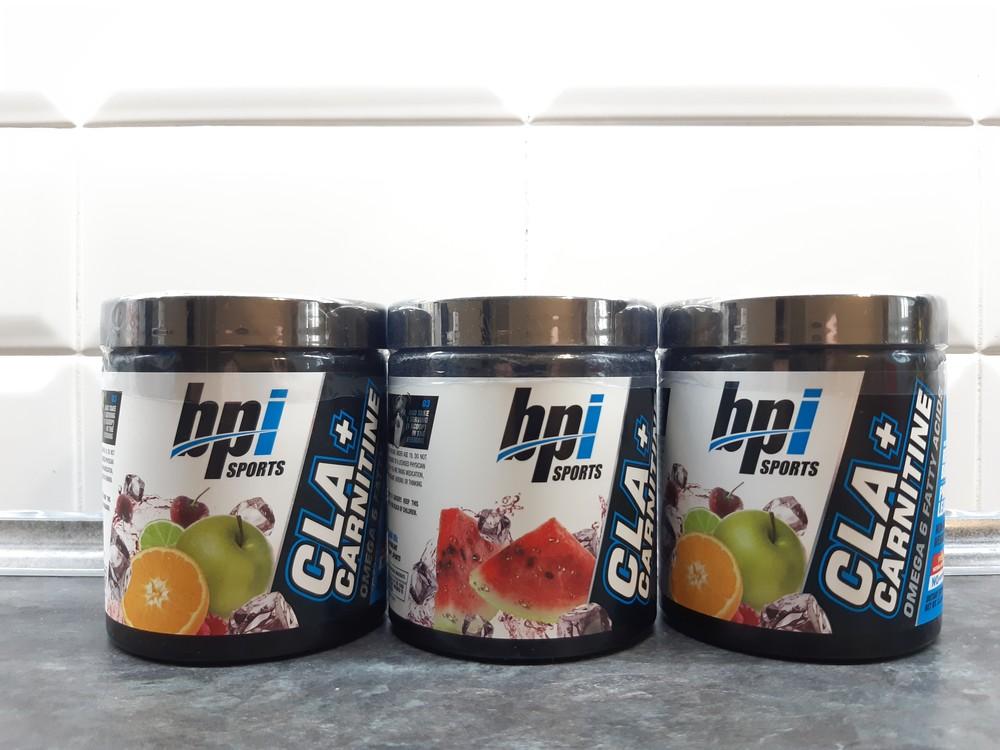 Bpi sports, cla+carnitine+d3, 350г=50 порций, л-карнитин жиросжигатель фото №1