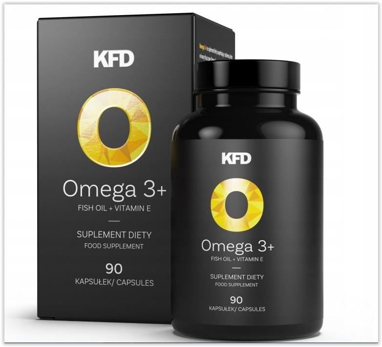 Омега-3 (рибячий жир) - kfd omega 3+ 90 капс фото №1