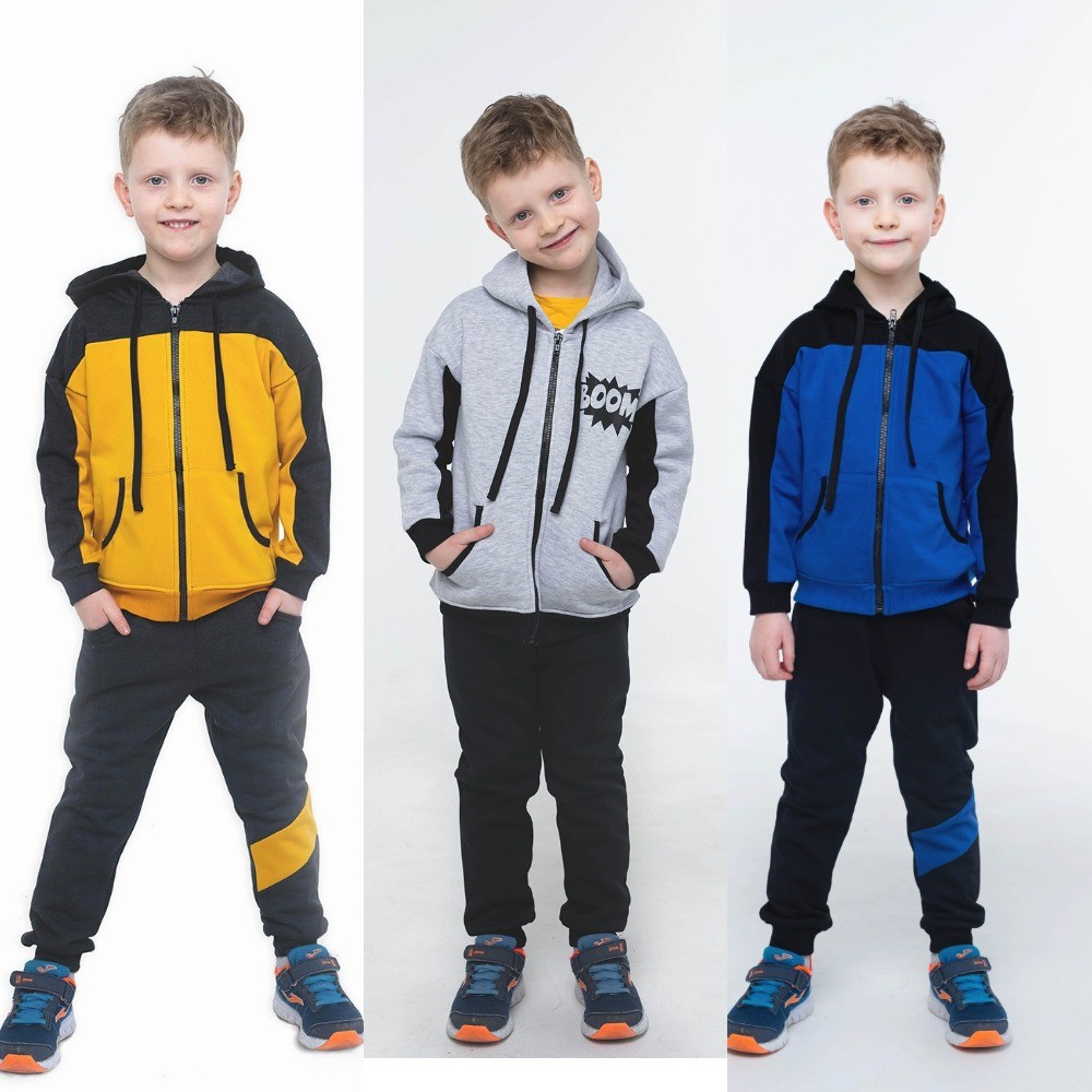 Спортивный костюм на мальчика 104 -128 фото №1