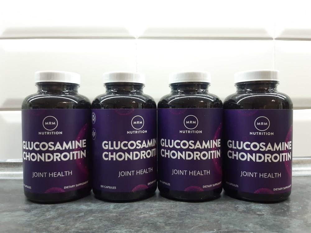Mrm, глюкозамин-хондроитин (180 капс.), для суставов, для связок фото №1