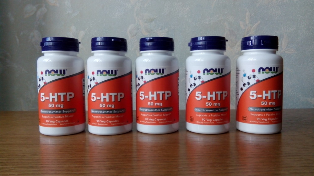 Now foods, 5-htp, 90 капсул х 50 мг, триптофан, гидрокситриптофан фото №1