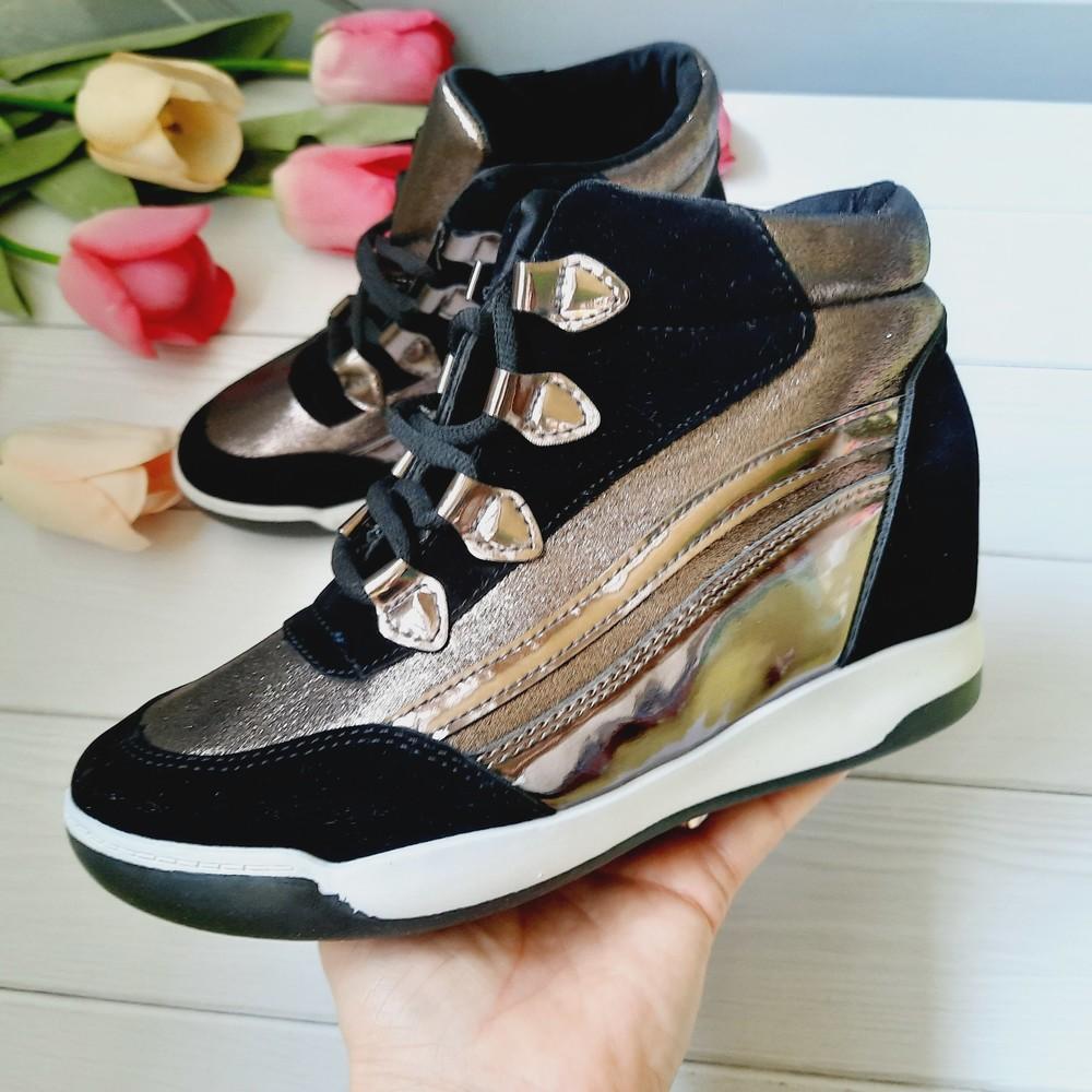 Демисезонные ботинки сникерсы 38 размер фото №1