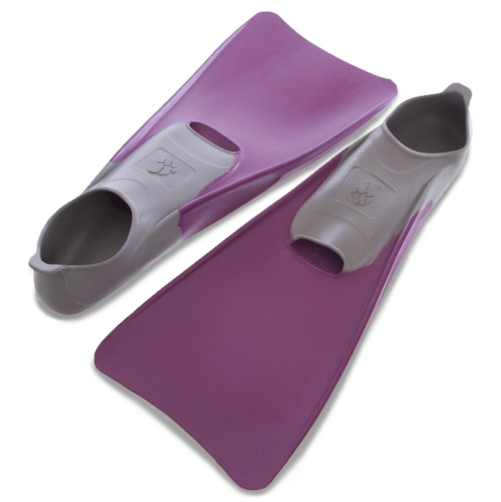 Ласты с закрытой пяткой madwave 074605509: размер 40-41, фиолетовый цвет фото №1