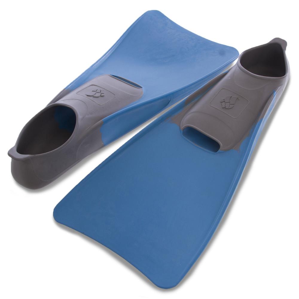 Ласты с закрытой пяткой madwave 074605608: размер 42-43, голубой цвет фото №1