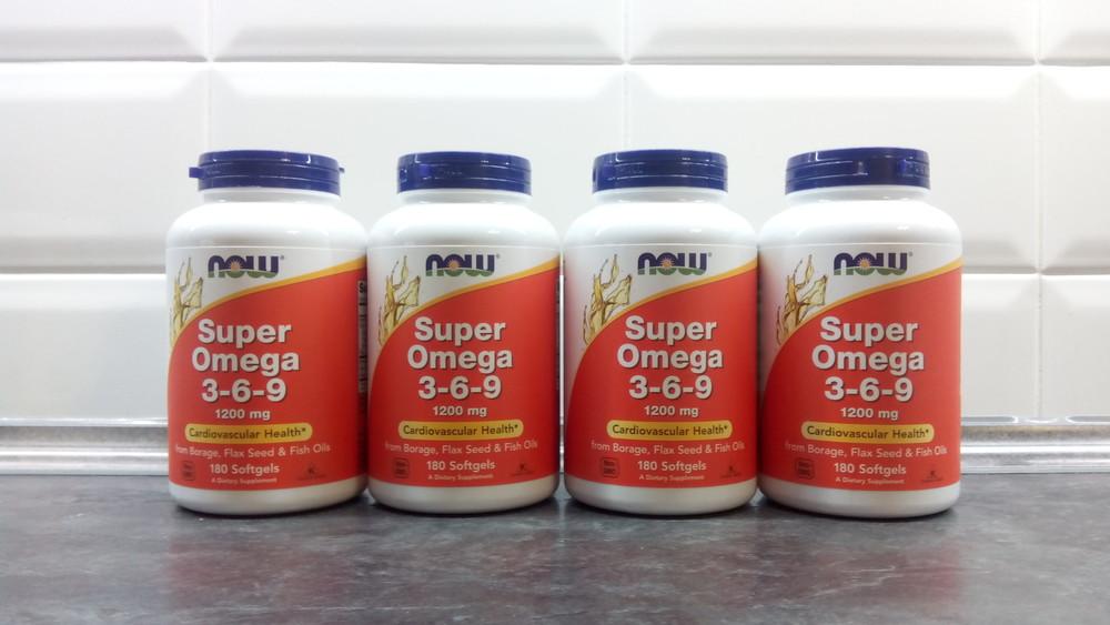 Now foods, super omega 3-6-9, 180 капсул, омега 3-6-9 концентрат, омега фото №1