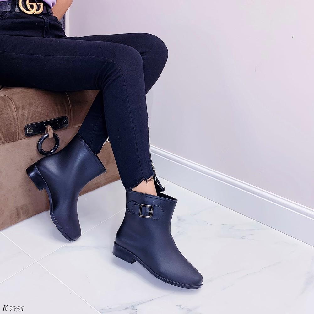 Резиновые ботинки фото №1