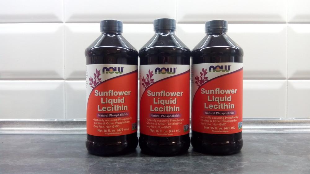 Now foods, лецитин из подсолнечника, 473 мл, lecithin sunflower фото №1