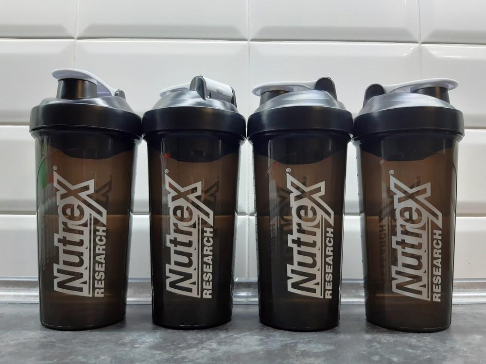 Nutrex research, shaker cup (700 мл), шейкер bra free фото №1
