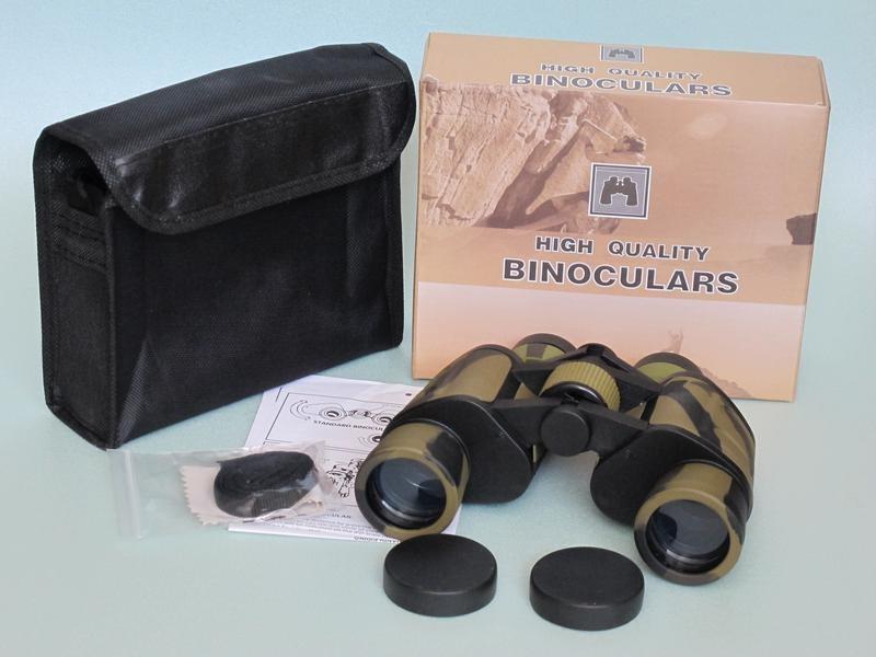 Бинокль baigish w10 8x40 бинокль для охоты и рыбалки фото №1