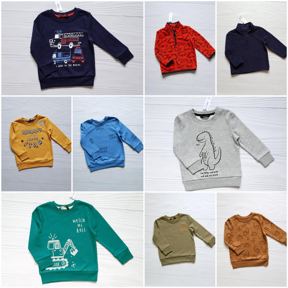 Свитшот george (начес)92-98-104-110-116см 2-3-4-5-6л кофта свитер фото №1