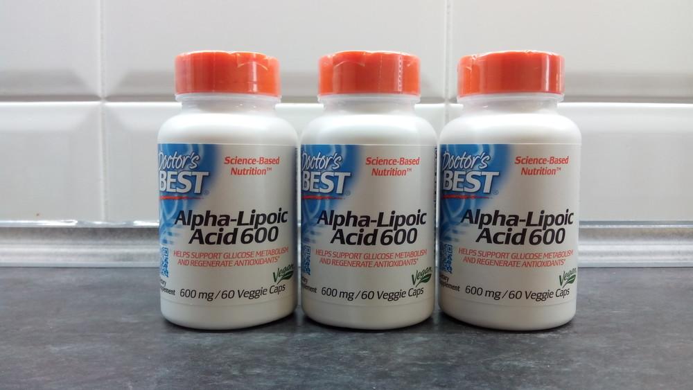 Doctors best, альфа-липоевая кислота (60 капсул х 600 мг) alpha-lipoic фото №1
