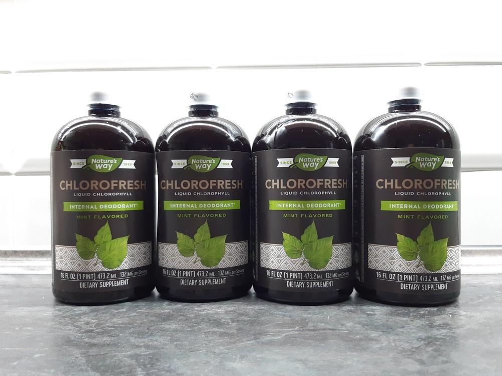 Natures way, chlorofresh (473 мл), жидкий хлорофилл, антиоксидант фото №1