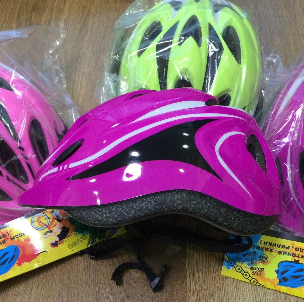 Детские защитные шлемы для роликов и самоката фото №1